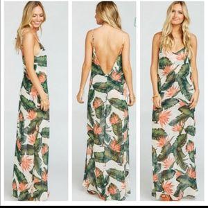 Show me your mumu Jolie dress in paradise found